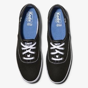 Keds Champion Classic Style Sneakers Black Size 9